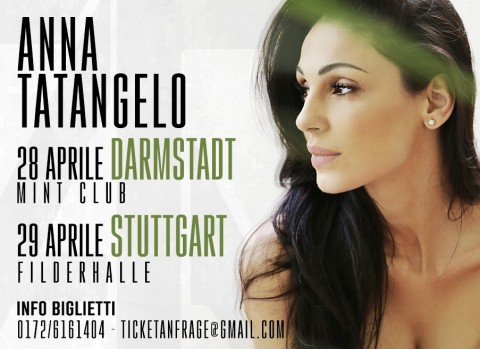Due nuove date in Germania ad Aprile