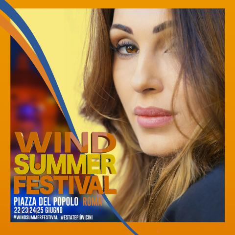 Il 24 giugno Anna al Wind Summer Festival!