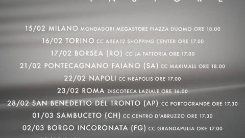 """Instore Tour """"La Fortuna Sia Con Me"""""""